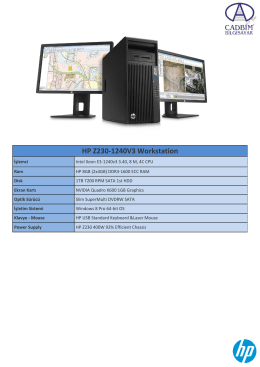 HP Z230-1240V3 Workstation