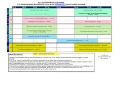 2014-2015 öğretim yılı güz dönemi elektrik