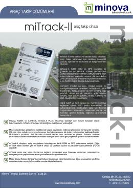 miTrack II Cihaz Broşürü