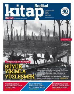 1 Ağustos 2014 - Radikal Kitap