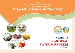 aydin - TC Gıda Tarım ve Hayvancılık Bakanlığı