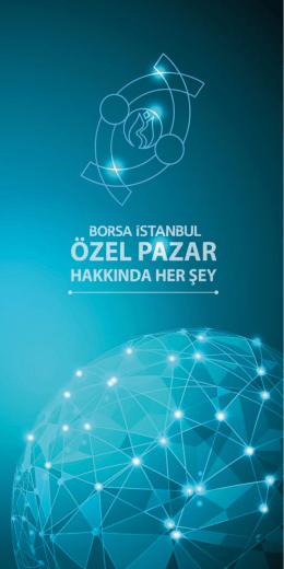 özel pazar - Borsa İstanbul