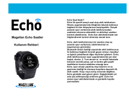 Echo Watches TR - Geomatics Group