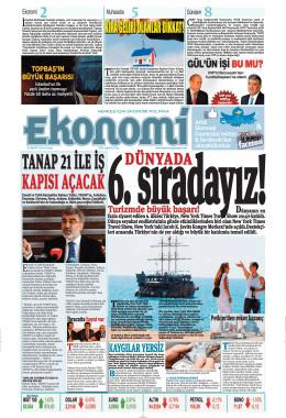 2 MART 2014 - Ekonomi Gazetesi