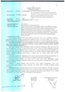 2014/135 kırveli mh. 2472 ada 14 parsel imar