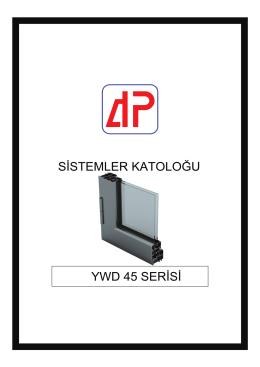 YWD 45 SERI - AKPA Alüminyum