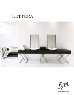 LETTERA - Bien Seramik