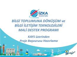 Sunum2_BTD_KAYS Egitimi - İzmir Kalkınma Ajansı