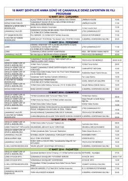 18-mart-programi