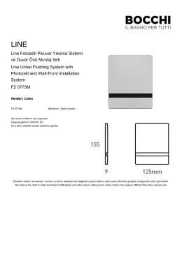 Line Fotoselli Pisuvar Yıkama Sistemi ve Duvar Önü Montaj
