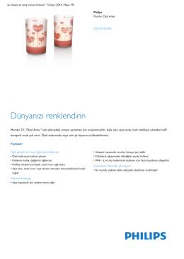 Product Leaflet: Mumlar Özel Anlar