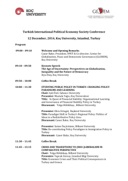 Turkish International Political Economy Society