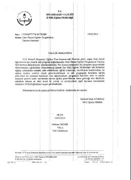 Makamlanmzca d~:uygul1 g~Julmesi halinde Dlurlan~za ~z ed.er,m,