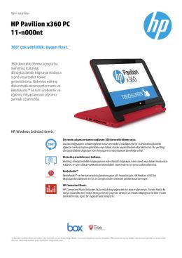 HP Pavilion x360 PC 11-n000nt