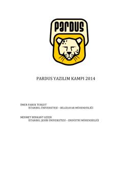 PARDUS YAZILIM KAMPI 2014