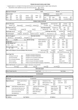 e-okul öğrenci bilgileri formu