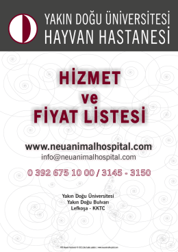 NEU_Animal_Hospital_Fiyat Listesi_2015_12.2