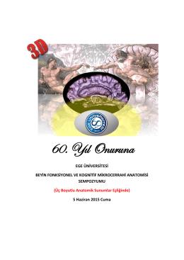 Kognisyonel ve Fonksiyonel Toplantı Programı