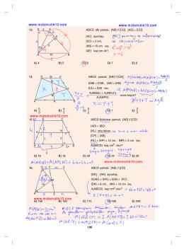 Sayfa 196 Çözümleri