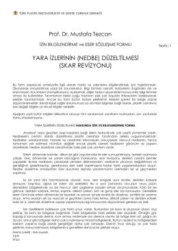 skar revizyonu - Cosmedic İstanbul