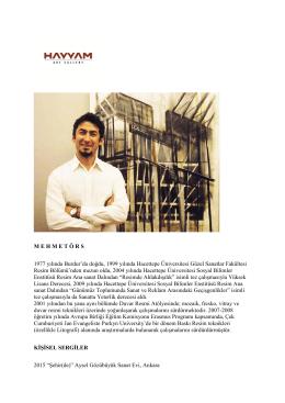 Dijital Katalog - HayyamArtGallery