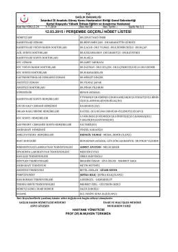 12 - Kartal Koşuyolu Yüksek İhtisas Eğitim ve Araştırma Hastanesi
