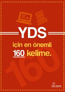 YDS İÇİN EN ÖNEMLİ 160 KELİME 1 reluctantly