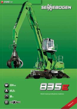 18 m 224 kW 45,5 t - SENNEBOGEN Maschinenfabrik GmbH