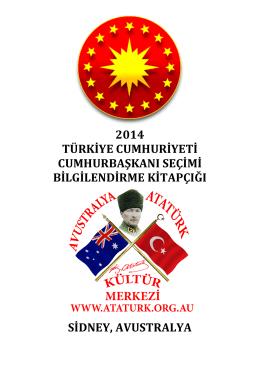 aakm kitapçık 2014 türkiye cumhuriyeti cumhurbaşkanı seçimleri