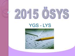 YGS-LYS - Delta Dershanesi