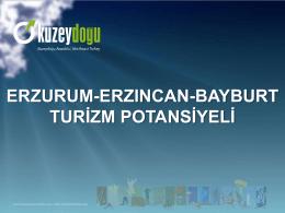 erzurum-erzincan-bayburt turizm potansiyeli