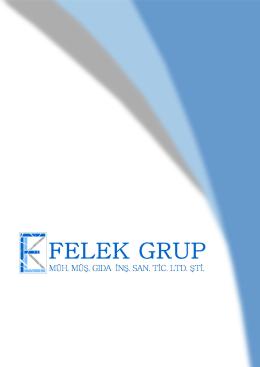 tıklayınız. - Felek Grup Mühendislik ve Müşavirlik Ltd.Şti.
