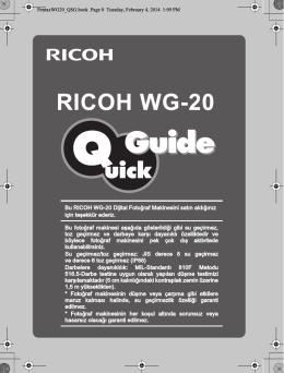 WG20 - QSG - TR
