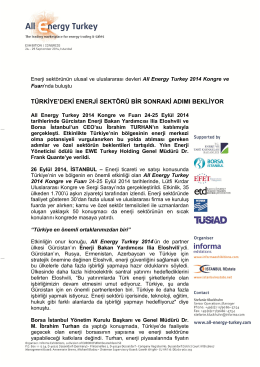 read more - All Energy Turkey