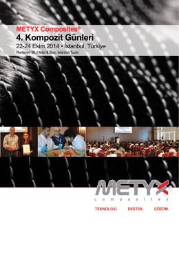 METYX Composites® 4. Kompozit Günleri