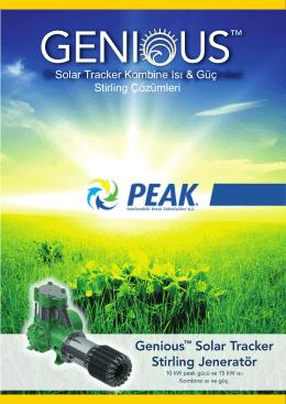 Solar Tracking Broşür