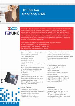 IP Telefon CooFone-D60