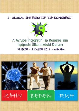 1. ulusal integratif tıp kongresi ilanını indirmek