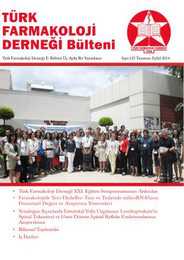 125 - Türk Farmakoloji Derneği