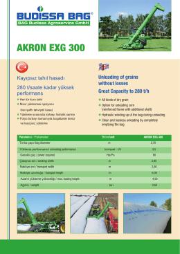 AKRON EXG 300