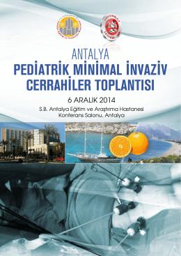 pediatrik minimal invaziv cerrahiler