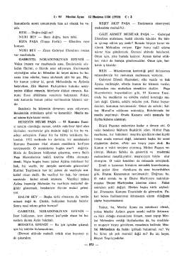 İ : 93 Meclisi Ayan 12 Haziran 1326 (1910) C : 2 kanunlarda sureti