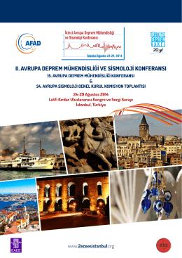 ıı. avrupa deprem mühendisliği ve sismoloji konferansı