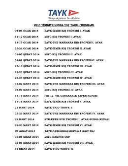 2014 tayk yarıs programı-taslak-1