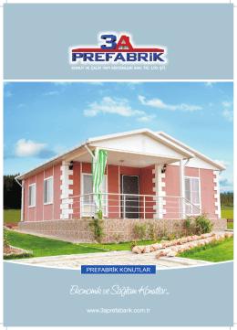 3A Prefabrik 2014 Katalog