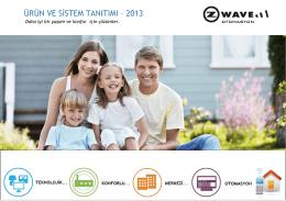 ürün ve sistem tanıtımı – 2013