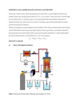 Deney 7: Borusal Akım Reaktörü: Gaz Adsorpsiyonu