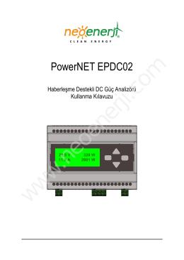 EP DC 002 Kullanım Kılavuzu