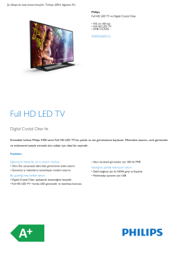 Full HD LED TV Digital Crystal Clear