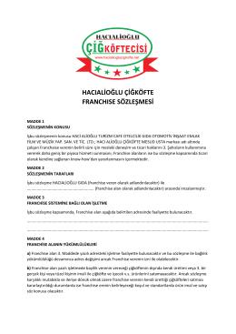 Bayilik sözleşmesini PDF formatında indirmek için lütfen buraya